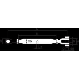Zip-Clip CON-LOCK 3m vajer 3mm